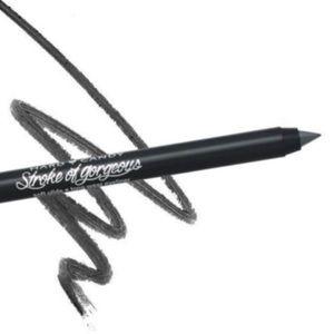 long wear intense glitter eyeliner in BLACK abyss
